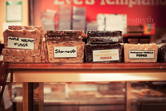 Oh So Very Sweet {Explored} (marysmyth (NOLA 13) ) Tags: food dessert store candy sweet bokeh fudge treat assortment ef50mmf14usm explored iwasgooddidntbuyeventhetiniestpiece