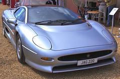 Jaguar XJ 220 (Dave Hamster) Tags: car racing historic silverstone jaguar motorracing motorsport 2012 racingcar 220 autosport xj jaguarxj220 silverstoneclassic worldcars jag220