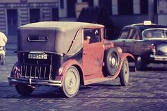 PRAHA Oct. 1970 pic36 (streamer020nl) Tags: auto walter car prague taxi prag praha junior cs 1970 czechoslovakia skoda tatra cssr