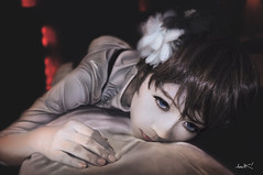 Depressed Eyes (vladlumy) Tags: boy flower art girl beautiful beauty photomanipulation painting eyes comic body drawing blueeyes fineart motel pale special fantasy depressed eyelash corpse something beautifuleyes hdr vlad sadeyes aesthetic photopaint   hdrmanipulation  alwaysexc vladlumy