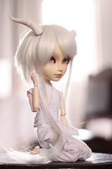 Cuernitooooos <3!! (mymuffin_15) Tags: white canon tou 50mm dragon dal full pullip custom 18 tantus isul obitsu touya taeyang