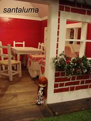 Aisha na casa de Noel!!