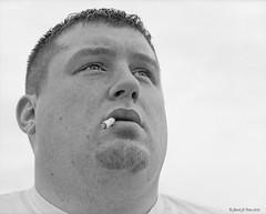 Nick (LeavenworthObey) Tags: portrait bw film analog nick headshot ilfordhp5 milwaukee highkey ortiz 2012 cokin tonalrange mamiyarz67 classicportrait tonality traditionalphotography fineartportrait epsonv750 traditionalzonesystem mamiyasekkorz ilofrd400 wetmountscan