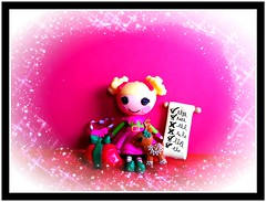 Holiday Lalaloopsy (welovethedark) Tags: holiday lalaloopsy minilalaloopsy targetexclusivelalaloopsyholiday2011 red elf cute fun christmas iphone iphonephoto iphonecamera iphonecameraapps toys dolls toy doll