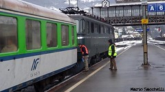 """Nikolaus express"" Luino-Rapperswill. (BR50 3673) Tags: steam treno gottardo vapore gottardbahn schweizbahn br503673 verbanoexpress ae6611421 nikolausexpress"