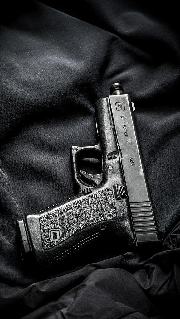 G19 IPhone 5 Wallpaper Stickgunner Tags Stickman Glock19 Stickmanwallpaper Iphone5wallpaper