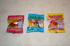 Haribo christmas minis (Like_the_Grand_Canyon) Tags: candy sweet weingummi