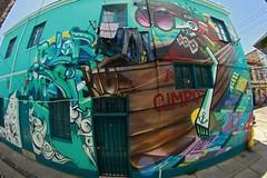 Color Imposible (Asie) Tags: west color festival graffiti valparaiso cerro asie graff painters polanco zade imposible jkr fros graffestival