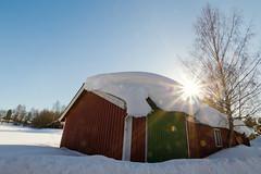 bergolli-2012talvikuvia-1 (Bergolli) Tags: light sun house cold ice field suomi cottage bluesky freeze finnish northern mökki wideangel aurinko pelto vastavalo fros talvi2012jaoulusnowcoldwinterwhite