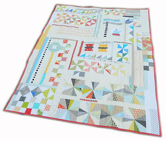 the puzzle {finished quilt} (s.o.t.a.k handmade) Tags: quilt quilting improv patchwork pinwheels liberated hsts