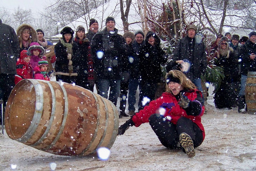 WINE COUNTRY ONTARIO - Barrel Rolling Competition