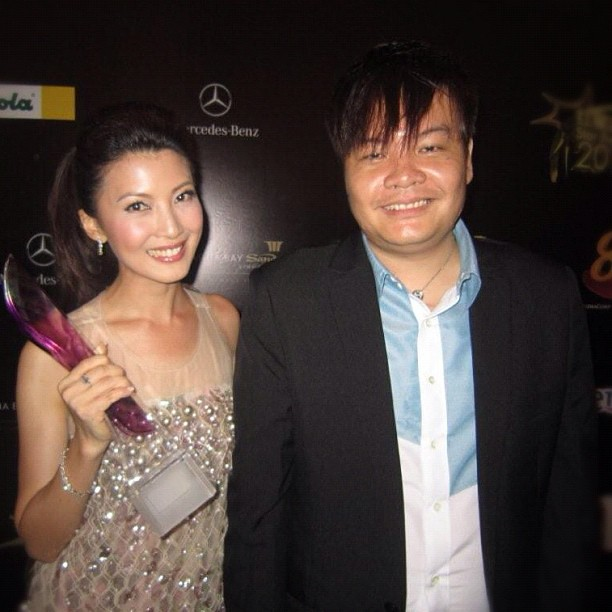 Star Awards 2012 Post Show Party「红星大奖2012庆功派对」Jeanette Aw