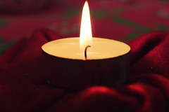 Scented candle. (Salvatore Tessitore) Tags: christmas red love photoshop wow fire nice candle heart lol 365 popular photooftheday