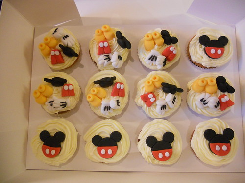 Mickey Mouse Cupcakes topper decoration