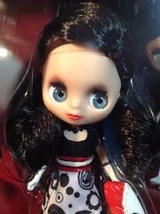 B32 2250 Blythe Loves Littles Pet Shop Flowers n Fashion Target Exclusive box front doll closeup black raven hair