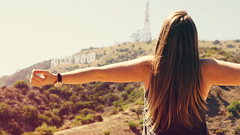 hollywood here I come! (Natalie Buisson) Tags: california usa girl hair long dream hills hollywood