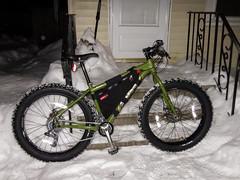 Mukluk post ride - satisifed customer! (WickedVT) Tags: winter snow vermont nate mukluk fatbike