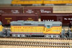 Union Pacific Wyoming Division HO (twm1340) Tags: railroad arizona scale up train layout utah ut model gm pacific general union rr az motors huge electro motive wyoming ho division ogden cheyenne wy 166 verdevalley emd gp9 2013 cornville roadofthestreamliners