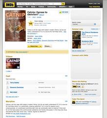 IMDB - Catnip: Egress to Oblivion?