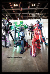 Accel World   Black Lotus   Cosplay (EE) Tags: cosplay   scarletrain ee accelworld    cyanpile greengrandee