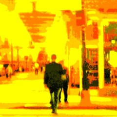 Crossing Street in Yellow #1 (aeleazer1(Busy,Off/On)!!!) Tags: camera blue light sky orange white black color green art colors yellow mobile upload puddle blog dc washington interestingness interesting day random air picture explore 99 dcist daytime poinsettias splash vote tagging catchy soe api washdc facebook hypothetical iphone ipad givemefive metroarea vividimagination twitter colorpicture artdigital kartpostal shockofthenew infinitescroll iphone4 cmwd iphonecamera iphonepicture flickriver iphonography iphoneart awardtree struckbyrainbow trolledproud abokehoflight ipadography aeleazer1 ipadology aeleazer andreeleazer netartii dcbestviewedlarge