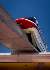 Monorail Monday XXVIII - Volume 3 (DugJax) Tags: monorail waltdisneyworld epcotcenter futureworld monorailred ef24105mmf4lisusm canonrebelt2i