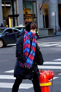 Chicagoans Bundled Up Against Winter's Cold on a Ten Degree Day 586