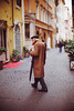 Magisterial (Sator Arepo) Tags: leica winter urban italy news rome roma umbrella 50mm mediterranean bokeh coat streetphotography f1 rainy mf noctilux press narrow ff m9 urbs pavestones leicam9