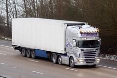 Scania R500 BD11 AEW (gylesnikki) Tags: truck silver artic balltrucking