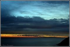 Fluorescence (bleumarie) Tags: orange mer nature soleil nikon lumière bleu ciel falaise roussillon aurore leverdesoleil cerbère aube méditerranée catalogne pyrénéesorientales lueur soleillevant suddelafrance luminosité tôt bleumarie mariebousquet nikonsd3100 photomariebousquet