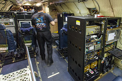 Inside NASA's P-3B Orion Airborne Earth Science Plane (Kevin Baird) Tags: nasa dryden daof nasatweetup nasasocial nasaairborne