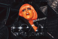 Heavy Metal Lover (*Nuke*) Tags: metal lady cd cover lover heavy gaga blend