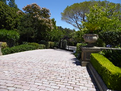 Driveway (c_nilsen) Tags: california house architecture digital mansion digitalphoto hillsborough sanmateocounty carolands