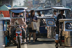 confused (Proj de Castro) Tags: travel people tricycle philippines lipa transportation batangas peoplephotography