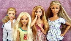 The Bright Side Of Summer (Anelonka) Tags: barbie cinderella lily joy fashionistas prim hunger games ellie skipper fashion fever