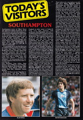 Leicester City vs Southampton - 1982 - Page 21 (The Sky Strikers) Tags: leicester city southampton fa cup road to wembley filbert street official matchday magazine 35p