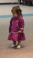 Young Inupiat girl