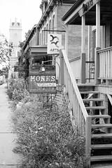 239/366 - 373 Bluff Street (sdgiere) Tags: monks cafe kaffee pub dubuque iowa bluff blackandwhite