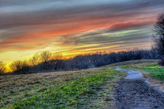 Hickory Hill Park- Sunset (andrewgrove) Tags: screensaver hickoryhillpark iowacity iowa unitedstates hdr sunset newyorkcity central park centralpark beautifulsunset redsunset chicago midwest desmoines losangeles