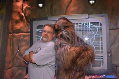 """Scott and Chewbacca • <a style=""""font-size:0.8em;"""" href=""""http://www.flickr.com/photos/28558260@N04/28943463960/"""" target=""""_blank"""">View on Flickr</a>"""
