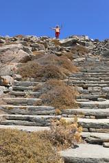 P1280612 (Cinzia, aka microtip) Tags: delos cicladi grecia archeology antichit archaelogy island unescoworldheritagesite mithology sanctuary ancientgreece mountcynthus kinthos