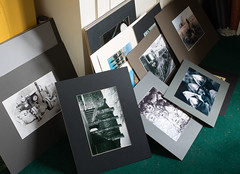 having a clear-out 01 sep 16 (Shaun the grime lover) Tags: board mounted framed photographs images artwork prints