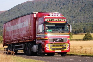 Ferguson Transport & Shipping Corpach Volvo FH SY61 AUM