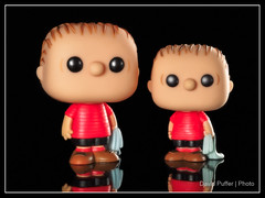 Double Down (Puffer Photography) Tags: stilllife funko actionfigures toys funkofantasy studio 2016 peanuts minifigs pop