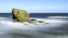 Rocks at Charlies Garden (Ellieslion) Tags: ellieslion longexposure leebigstopper seatonsluice