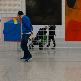 im Museum Moderner Kunst