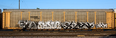 DSC_2197 (The Curse Of Brian) Tags: trains freights graffiti minneapolis minnesota eksor sano
