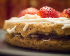 Strawberry Shortcake (Hermit Haunt) Tags: vegan strawberryshortcake food