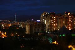 Almaty Tower (Ken Meegan) Tags: almatytower tallestfreestandingtubularsteelstructure televisiontower almaty kazahkstan