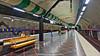Stockholm, Sweden: Huvudsta Station, Line T-10 (Blue) (nabobswims) Tags: hdr highdynamicrange huvudsta lightroom linet10 metro nabob nabobswims photomatix se sl sonya6000 station stockholm subway sweden tbana tunnelbana ubahn stockholmiän selp1650